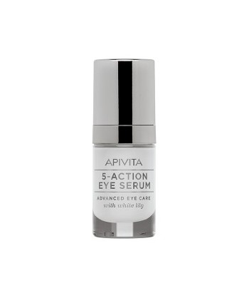 APIVITA 5- ACTION  SERUM CONTORNO DE OJOS 15 ML