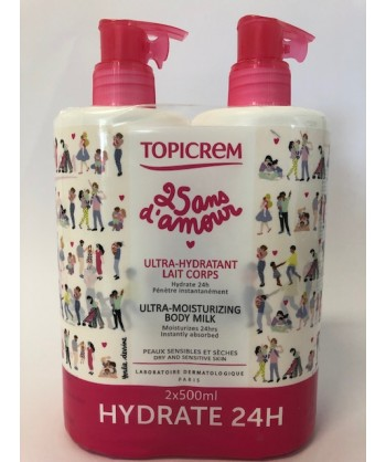 TOPICREM PACK ULTRAHIDRATANTE CORPORAL 2*500 ML