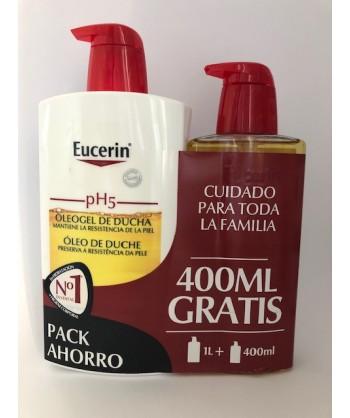 EUCERIN PH5 OLEOGEL 1L +400 ML GRATIS